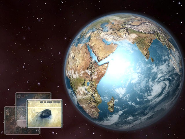 linux desktop themes wallpaper earth 3d space screensaver 1 0